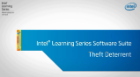 Intel® Learning Series Software Suite Theft Deterrent