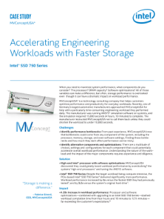 Intel® SSD 750 Series: Fast Work with Fast Storage