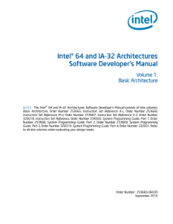 intel 64 and ia 32 architectures developer s manual vol 1