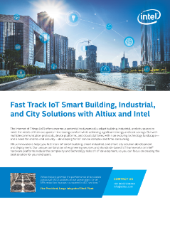 iot solutions for smart buildings cities and industrial intel