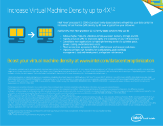 Increase Virtual Machine Density
