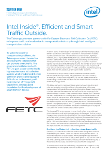 Intel® Intelligent Transportation in Taiwan: Solution Brief
