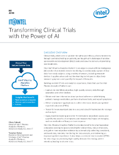 transforming clinical trials with the power of ai