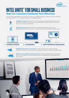 Intel Unite® Solution for Small Business Brief
