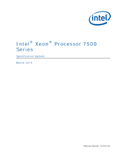 Intel® Xeon® Processor 7500 Series: Specification Update