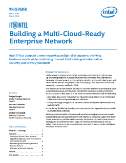 Building a Multi-Cloud Enterprise Network