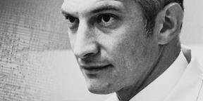 black and white image of young Robert Noyce